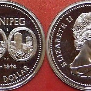 Dollar  épreuve du Canada