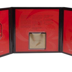 2002 Année du cheval -Ensemble pièce en argent + timbres