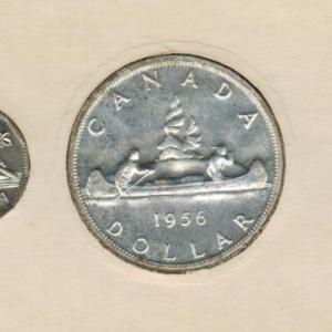 1956 Ensemble hors-circulation de la monnaie royale canadienne