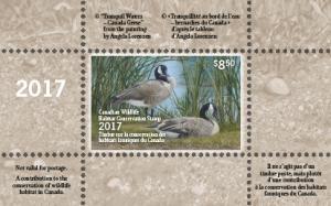 Timbres de la conservation des habitats fauniques du Canada