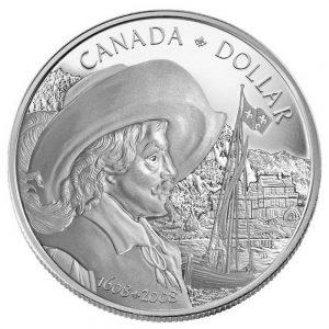 2008 Dollar épreuve numismatique en argent