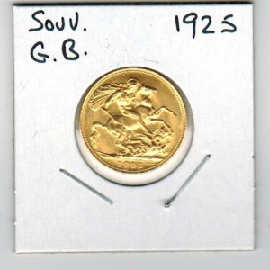Great Britain 1925 gold coin