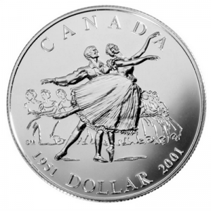 2001 Dollar 1951 – Ballet National du Canada