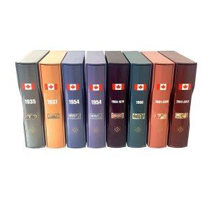 Albums NUMIS pour billets de banque canadiens