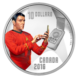 2016 fine silver coin 1/2 oz  – Scotty