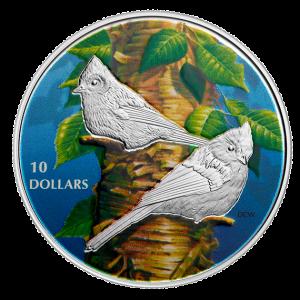 2017 Pièce de 10$ en argent fin – Mésange bicolore