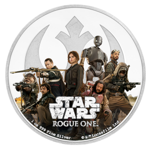 2017 Pièce Star Wars en argent fin – rebel alliance