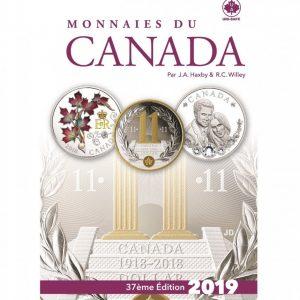 Monnaies du Canada 2019