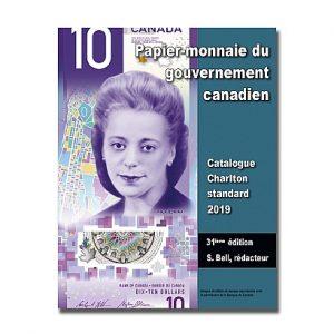 2019  Papier-monnaie du gouvernement canadien