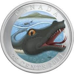 2011 25 Cent Coin Canadian Mythical Creatures – Memphré