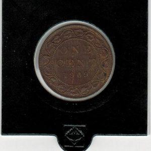 1909 – 1 cent – Canada
