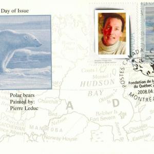2008 Ours blancs de Pierre Leduc WWF surchargé