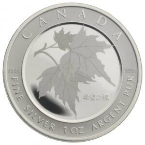 2005 – Feuille d'érable en argent de l'espoir